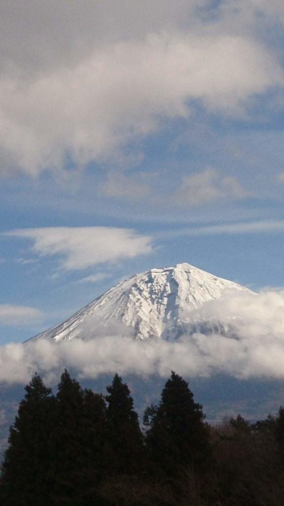 富士山YMCAから見える富士山