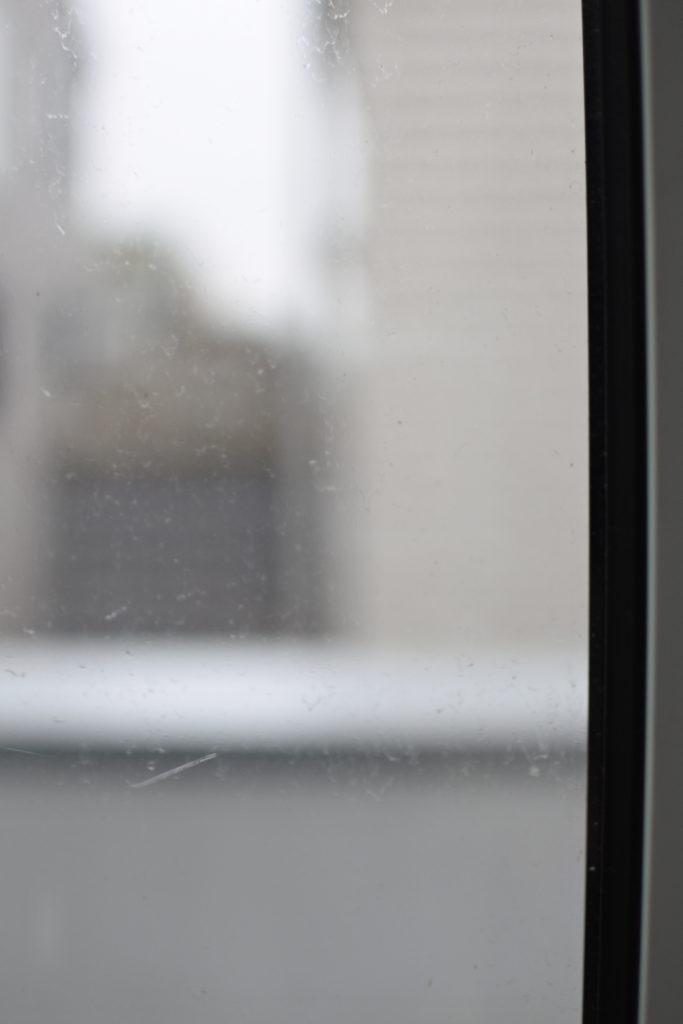 今年の窓の汚れ