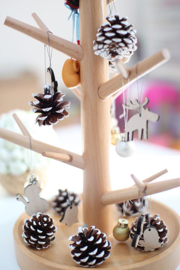 無印のクリスマスツリーを子ども部屋に