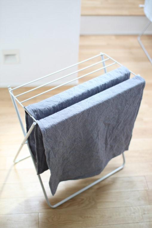 Georg Jensen DamaskのEgyptティータオルを洗濯しました