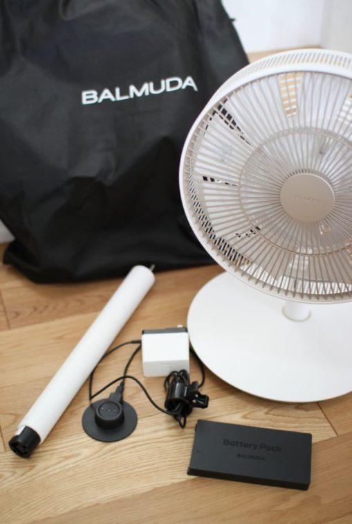 バルミューダの扇風機ザ・グリーンファン
