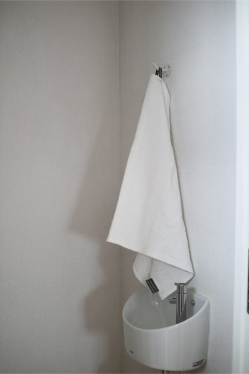 ジョージジェンセンダマスクのエジプトティータオル ホワイト