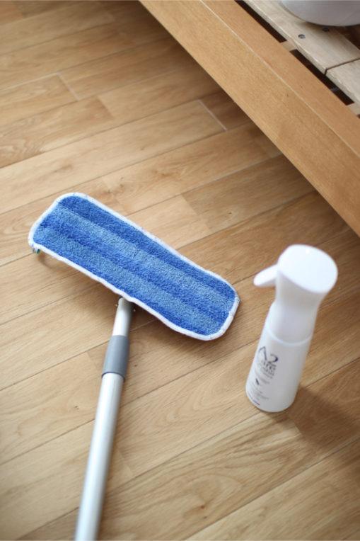 ベッド周りの大掃除