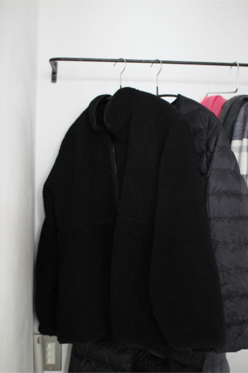 GUのボアジャケット
