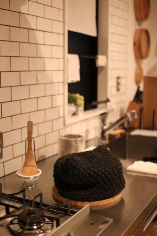 豚汁と鍋帽子
