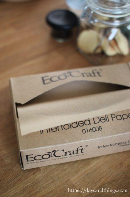 EcoCraft ワックスペーパー